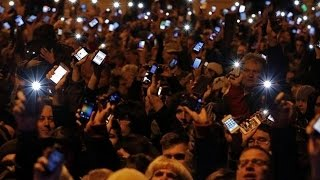 Mass Protest Force Hungarian Gov To Drop Internet Tax Plan