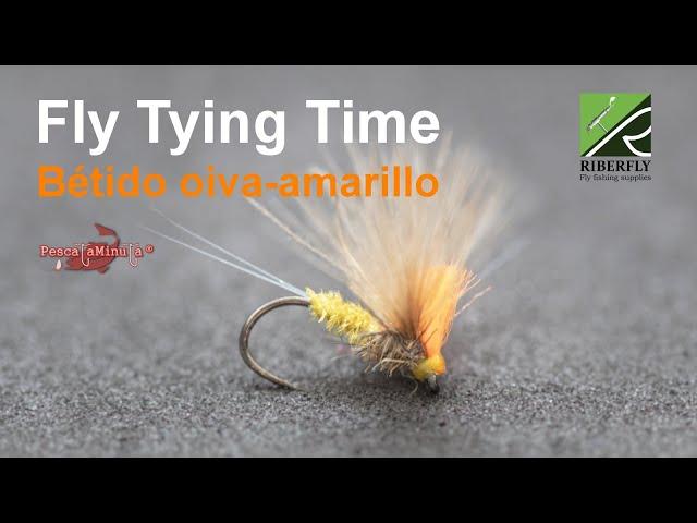 RIBERFLY - Fly Tying Time Cap. XVI - Bétido oliva-amarillo
