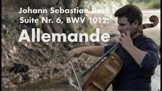 Bach - Suite No 6: Allemande - Michael Heupel