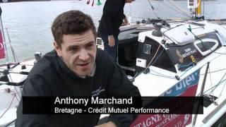 Corentin Horeau sur la dernière étape de La Solitaire du Figaro 2012