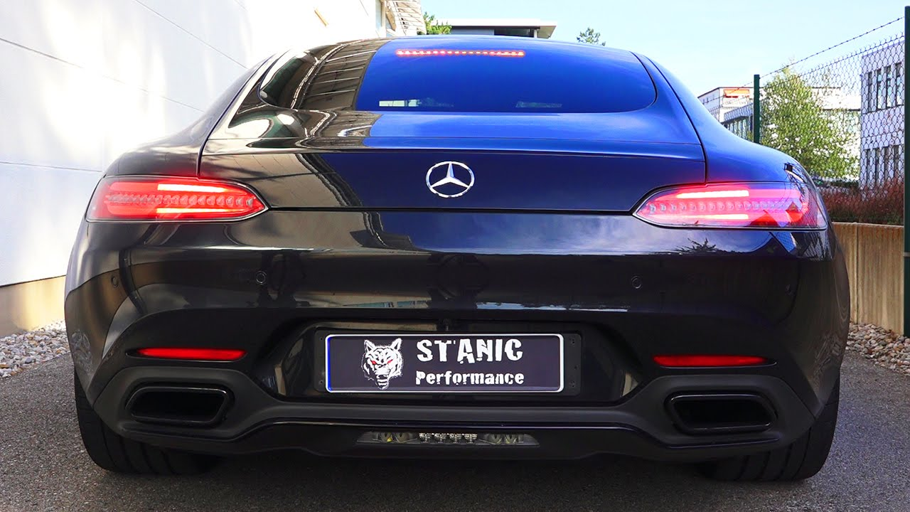 Mercedes Amg Gt Sound By Stanic Performance V8 Revs