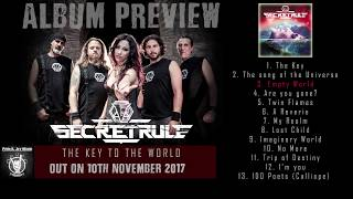 SECRET RULE - The Key to the World (Album preview) | Pride & Joy Music