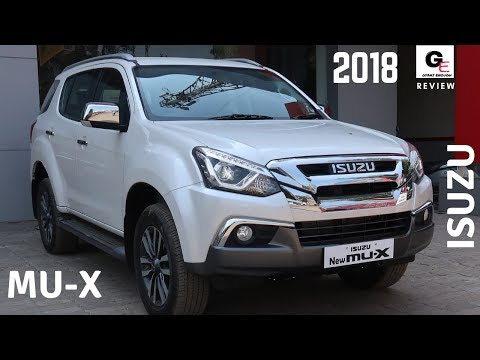 2018 Isuzu MU-X 4X4 | most detailed review | features | specs | interiors | exteriors !!!