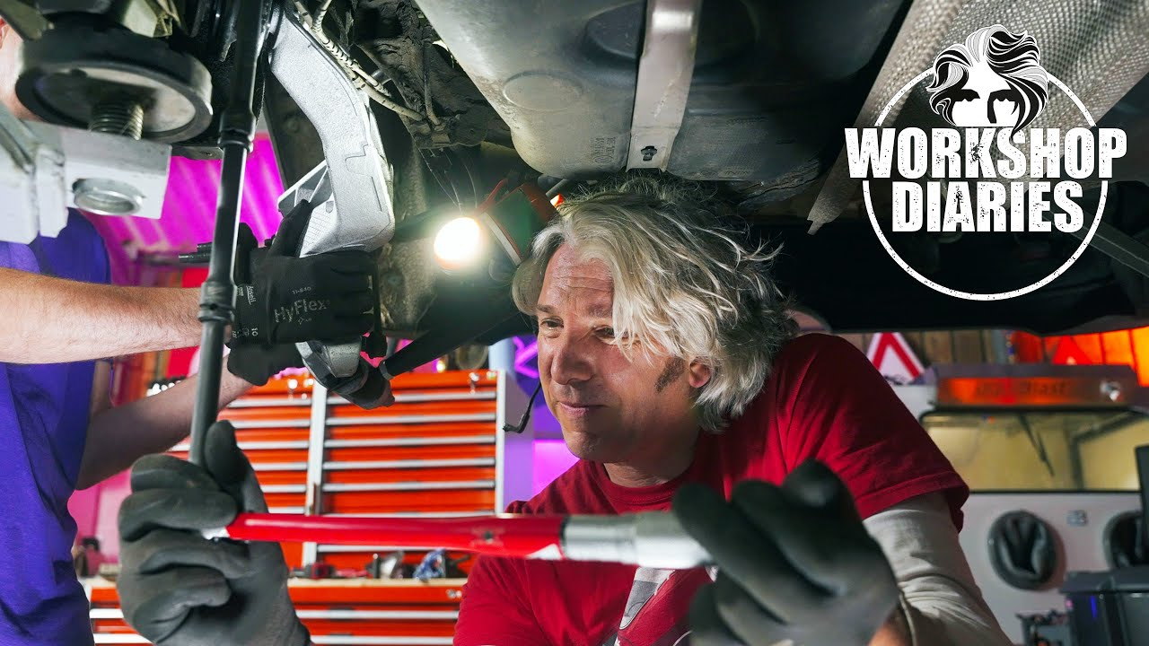 How to upgrade BMW Mini Cooper S Rear Suspension for Rallying - Edd China's Workshop Diaries
