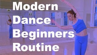 Easy dance routine for beginners from Modern Dance Workout