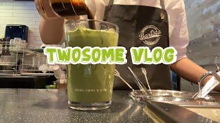 [Vlog] Eng) 투썸브이로그 | 카페브이로그 | …