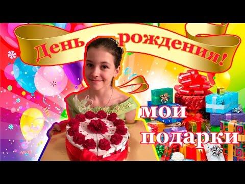 VLOG: Мой День рождения 🎂 Как я праздновала / Подарки на День рождения