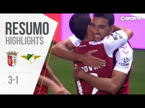 Highlights | Resumo: Sp. Braga 3-1 Moreirense (Liga 19/20 #1)