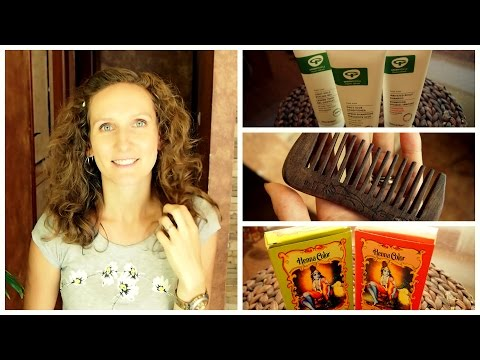 My Organic Hair Care Routine For Curly/Wavy Hair | VitaLivesFree