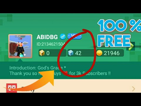 How To Get Free Gcubes Bcubes Everyday In Blockman Go Blocky Mods Youtube