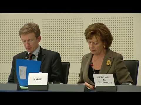 EU's Kroes discusses Hungarian media law in EU Parliament