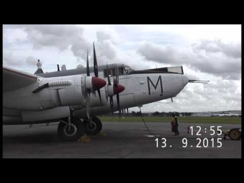Andy Jones's visit to Avro Shackleton WR963 TAXI RUN @ VTTS Members Day 130915
