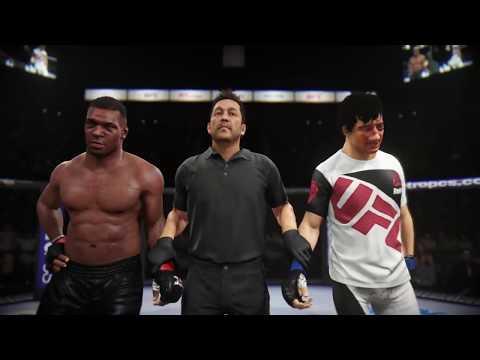 Mike Tyson vs. Jackie Chan (EA Sports UFC 2)
