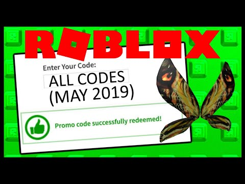 Roblox Promocode Showcase (Jan - May 2019)