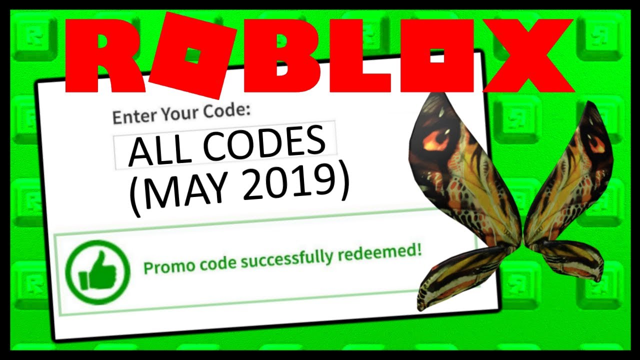 Roblox Promocode Showcase (Jan - May 2019) - YouTube on Promo Code Roblox id=22157