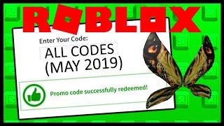 ALL ROBLOX PROMO CODES! (2019)