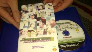 Nostalgamer Unboxing Smash Court Tennis Pro Tournament 2 On Sony Playstation 2 UK PAL System Version