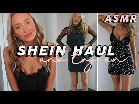 ASMR SheIn Try-On Haul! (Whispered) | GwenGwiz