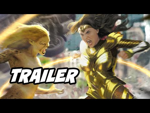 Wonder Woman 1984 Trailer - Wonder Woman Vs Cheetah Breakdown And Easter Eggs