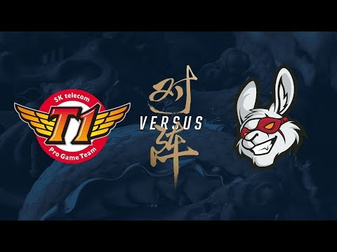 SKT vs MSF  Quarterfinals Game 3  2017 World Championship  SK telecom T1 vs Misfits Gaming