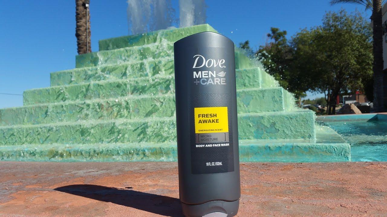 Dove Men Care Fresh Awake Body Wash Youtube