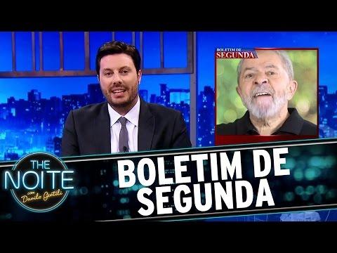 Boletim de Segunda: Depoimento de Lula e os Lulanáticos | The Noite (15/05/17)