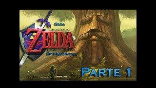 Consiguiendo el escudo deku y la espada kokiri - The Legend Of Zelda Ocarina Of Time - Guia