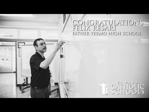 Felix Rasari - Father Yermo High School Teacher of the Year 2019