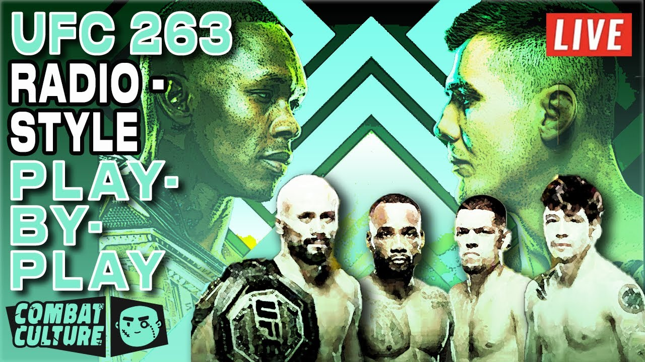 Download UFC 263 Live Stream   Adesanya vs. Vettori 2   Radio-Style PPV Main Card Commentary