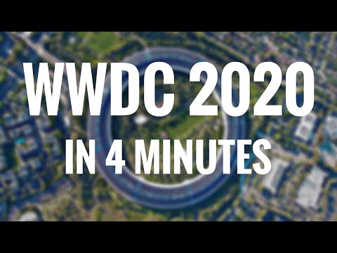 Apple WWDC 2020 KeyNote in 4 Minutes – EVERYTHING!