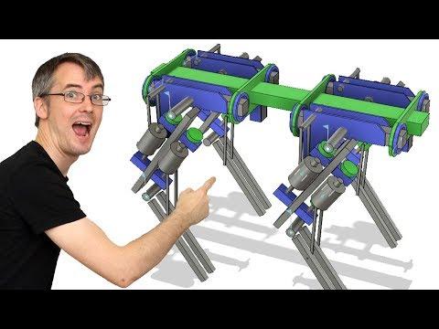 openDog Dog Robot #1 | Planning & Explanation | James Bruton