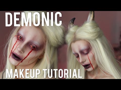 SUCCUBUS / DEMON Halloween Makeup Tutorial streaming vf
