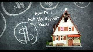 Как вернуть Security Deposit за аренду квартиры в США