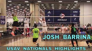 Josh Barrina Volleyball Highlights - USAV Nationals 2018