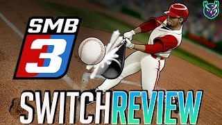 Super Mega Baseball 3 Switch Review - A Home Run? (Video Game Video Review)