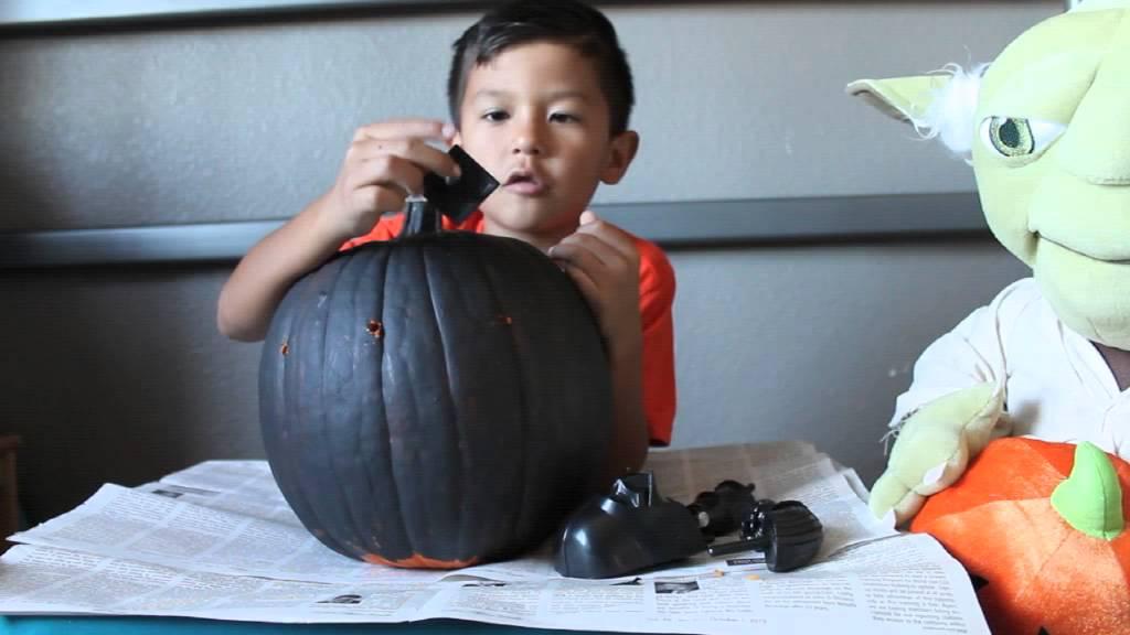 Darthvader Pumpkin Youtube