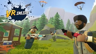 VR Inside Podcast - Rec Room Battle Royale, The Forest in VR & Vive Focus 6DoF Controller (Ep.38)