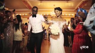 Osas and Gbenro white wedding  SPICE Weddings