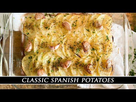 Classic Spanish Potatoes   Patatas Panaderas Recipe