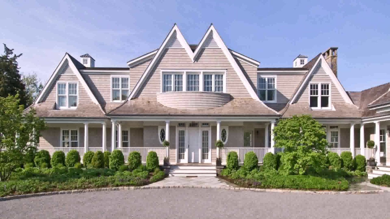 hamptons house style exterior youtube. Black Bedroom Furniture Sets. Home Design Ideas