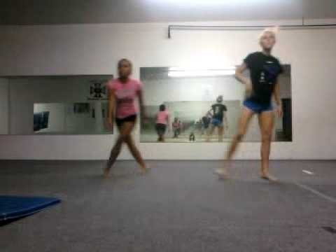Kate and Kristyn's dance to U and Dat  by E-40
