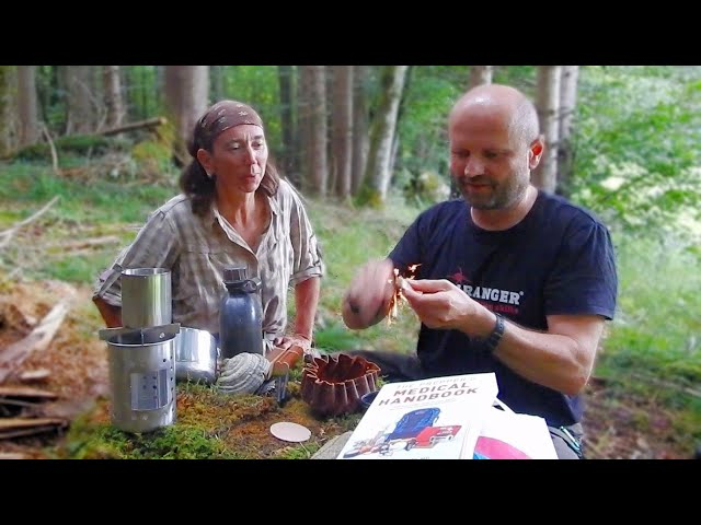 New Bushcraft-, Camping- and Survival Items with Susanne