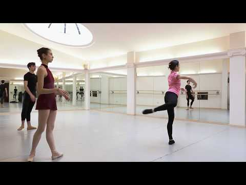 ballet class Sophie