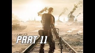 METRO EXODUS Walkthrough Gameplay Part 11 - Lighthouse (Let's Play Commentary)