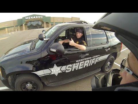 Supermoto Shenanigans: Da Big (not) Bad Sheriff