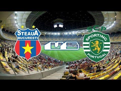 Steaua Bucharest VS Sporting- Em direto (Relato&HD)