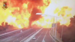 Raw Video: Massive Explosion In Italy; At Least 2 Dead, 60 Injured