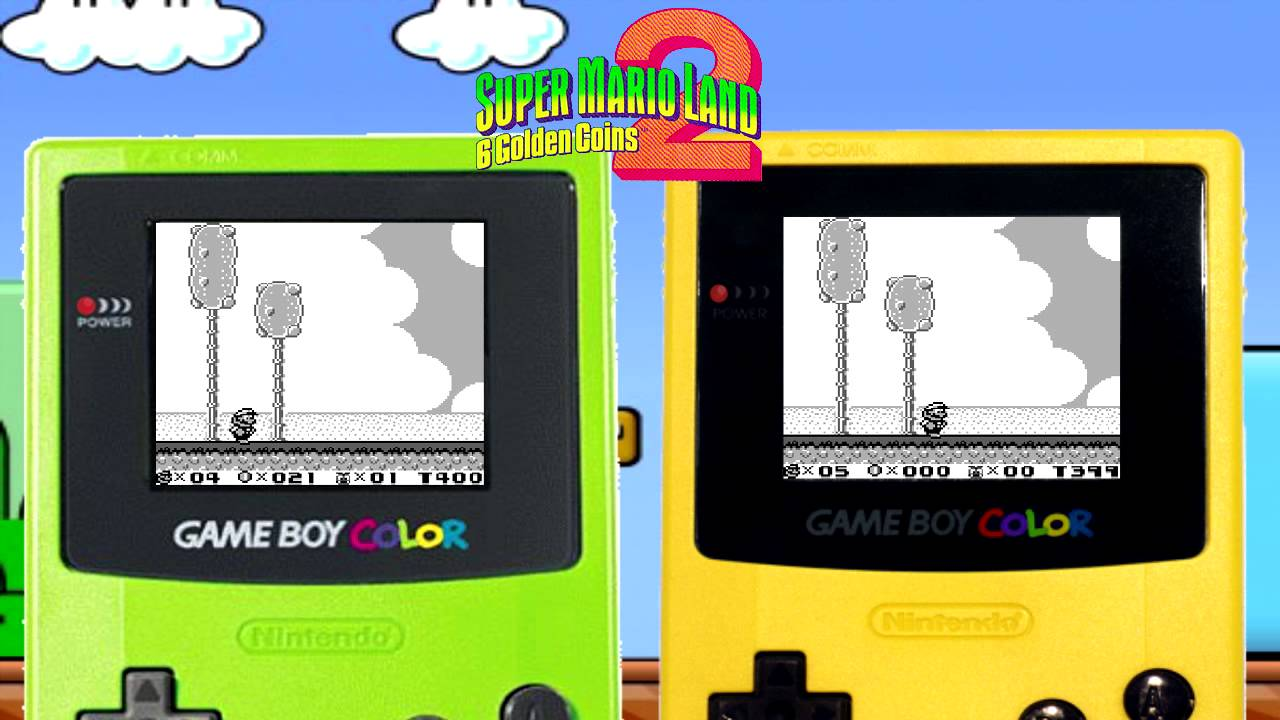 gameboy color template test youtube