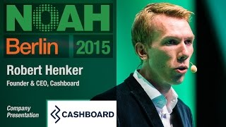 Robert Henker, Cashboard - NOAH15 Berlin