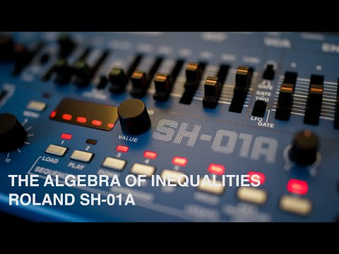 The algebra of inequalities   A funky sketch // SH-01A